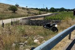 Moto termina fuori strada sulla Corato - Castel del Monte, giovane ferito