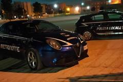 Nella villa comunale a tarda sera, identificata una persona dalla Polizia Locale
