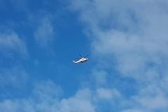 C'è un elicottero nei cieli di Corato...