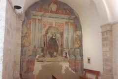 Domani la presentazione del restauro dell'antico affresco di Santa Lucia