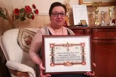 Alto riconoscimento alla carriera per la scrittrice e poetessa Apollonia Saragaglia