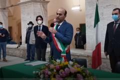 """De Benedittis indossa la fascia: """"Sarò sindaco dell'ascolto e delle scelte"""""""