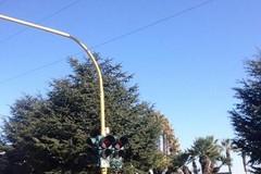 Molti semafori cittadini sono guasti