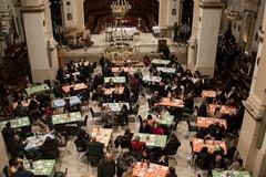 In chiesa Matrice una cena di Natale per i meno fortunati