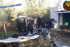 Ritrovata una Volvo smontata risultata rubata a Corato