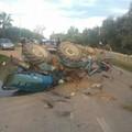 Brutto incidente sulla Ruvo - Corato, traffico bloccato