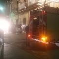 Auto in fiamme su via Gaspara Stampa