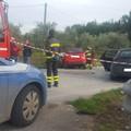 Tragico incidente su via Gravina, un morto