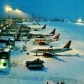 Bufera di neve, chiuso l'aeroporto di Bari - Palese