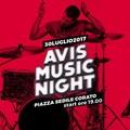 "Questa sera in Piazza Sedile  ""Avis Music Night """