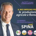 Francesco Spina: «Impegno per le produzioni agricole e floreali»