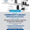 Incontro pubblico sul bando Community Library, biblioteche di comunità