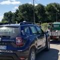 Si aggrappa al motocarro per non farselo rubare, intervento risolutivo della Vigilanza Giurata