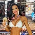 Micaela Di Gennaro campionessa europea di Welness Fitness