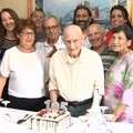 105 candeline per zio Giovanni