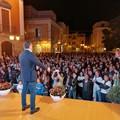 """Festa in piazza per Vito Bovino: «Alla richiesta di coraggio io rispondo """"presente""""»"""