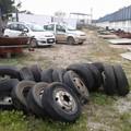 Sventato furto di pneumatici