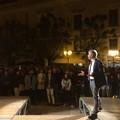 """La piazza ed Amorese in un unico grande grido di speranza: """"daremo futuro al presente"""""""