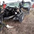 Spaventoso incidente sulla Altamura - Corato