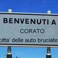 Benvenuti a Corato, città delle auto bruciate