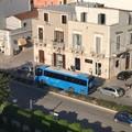 Autobus in panne sull'extramurale