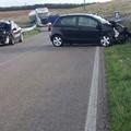 Brutto incidente sulla Corato - Altamura, scontro con un'auto dei Carabinieri
