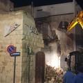 Crollo di via Trieste, al via le operazioni di messa in sicurezza