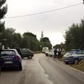 Brutto incidente su via Castel del Monte, un ferito