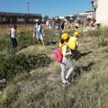 I volontari ripuliscono il Belvedere: oltre una tonnellata di rifiuti