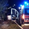 Incidente sulla provinciale Corato - Ruvo di Puglia