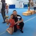Sarah Strippoli, ginnasta coratina campionessa regionale di mini trampolino
