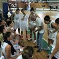 Le ragazze della Nuova Matteotti Corato all'esame con Todis Salerno