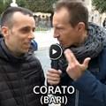 Cristiano Militello strappa un sorriso ai coratini e all'Italia