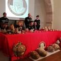 Furti di opere d'arte, oltre cinquecento i beni sequestrati nel 2019 tra Puglia e Basilicata