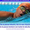 """Al via le  """"Special Olympics """", nuotatori disabili da tutta Italia in gara"""