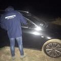 Auto rubate rinvenute nelle campagne coratine