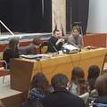 """Gli studenti del  """"Federico II Stupor Mundi """" a lezione da Andrea Scanzi"""