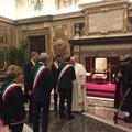 Il Sindaco Mazzilli ricevuto dal Papa