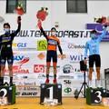 Ciclismo Juniores, il coratino Vittorio Carrer sul podio di Pineto