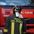Auto in fiamme in via Aurelia