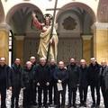 Nuovo vescovo, delegazione diocesana visita Mons. D'Ascenzo