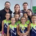 La piccola ginnasta Sarah Strippoli in squadra tra le migliori società del sud Italia