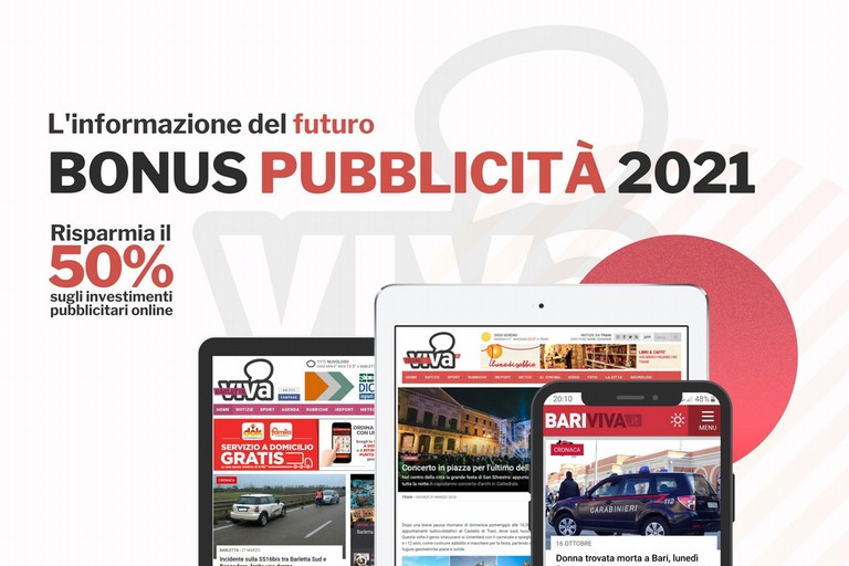 Bonus Pubblicità 2021 sul network Viva