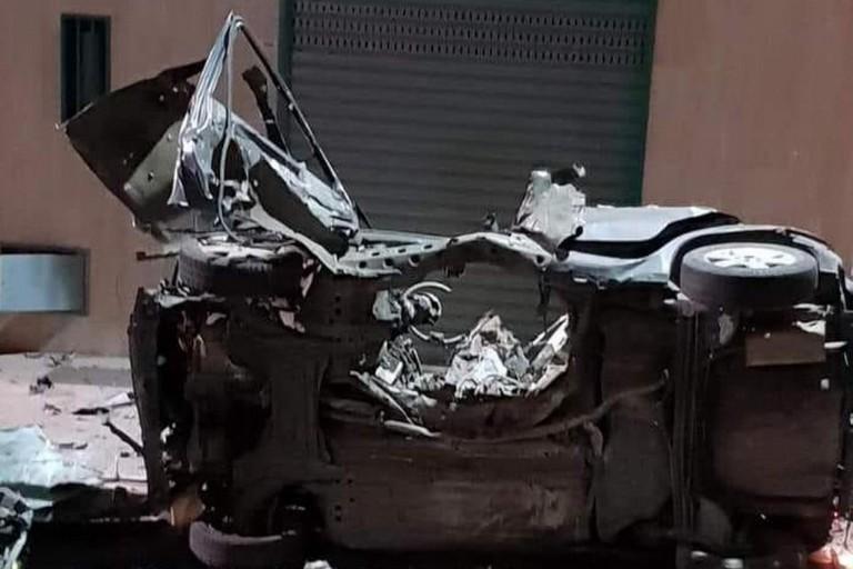 Esplosione auto carabiniere Corato