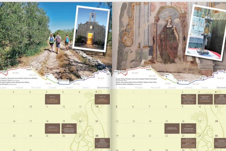 Calendario Via Francigena