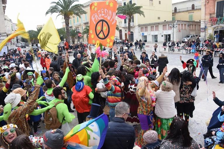 Carnevale Coratino. <span>Foto Doriana Maldera</span>