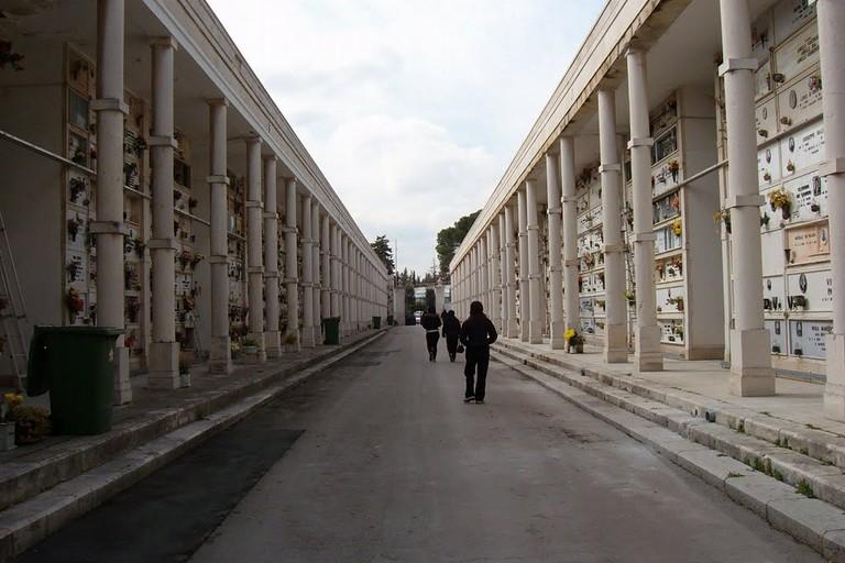 Cimitero. <span>Foto Gennaro Di Chiaro</span>