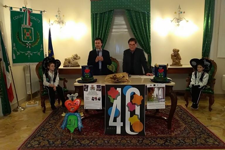 Il carnevale Coratino festeggia i suoi 40 anni. <span>Foto Luciana Cusanno</span>