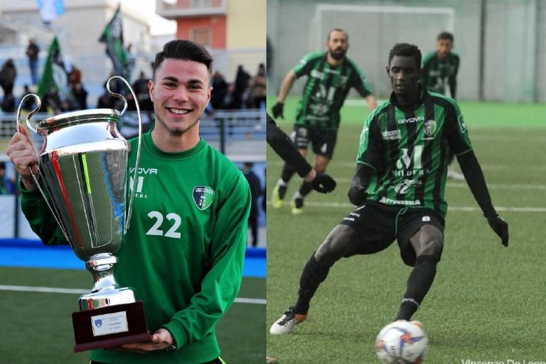 Davide Olibardi e Ndiaga Ngom