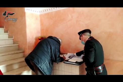 carabinieri consegna pensione